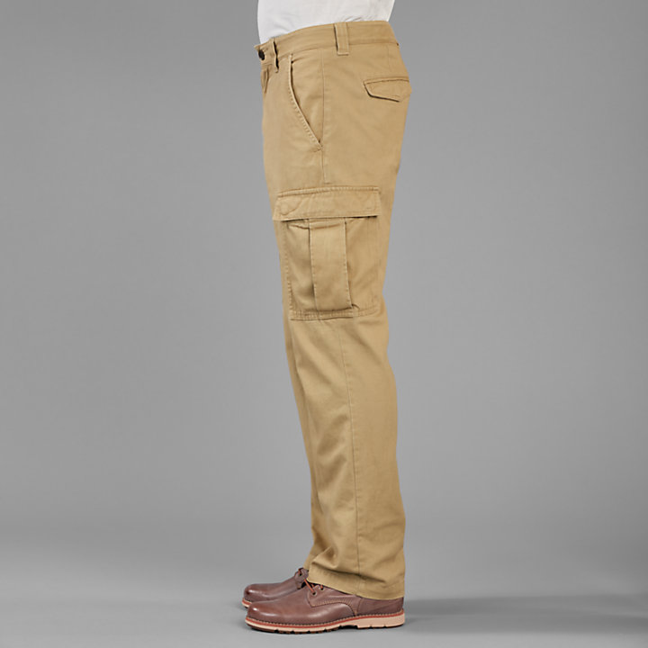 Men's Classic Straight Fit Twill Cargo Pant | Timberland US