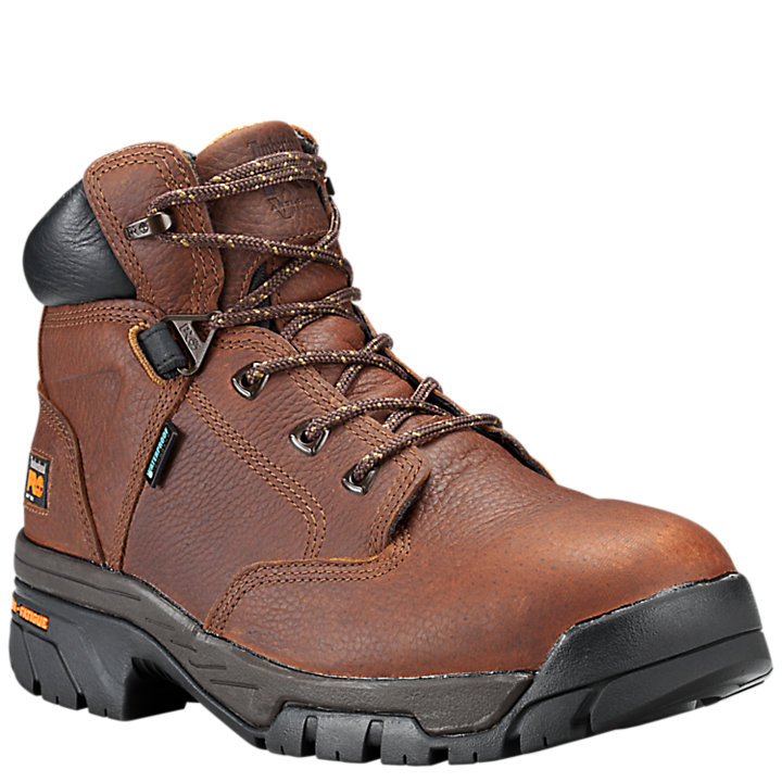 "Men's Timberland PRO® Helix 6"" Soft Toe Work Boots-"