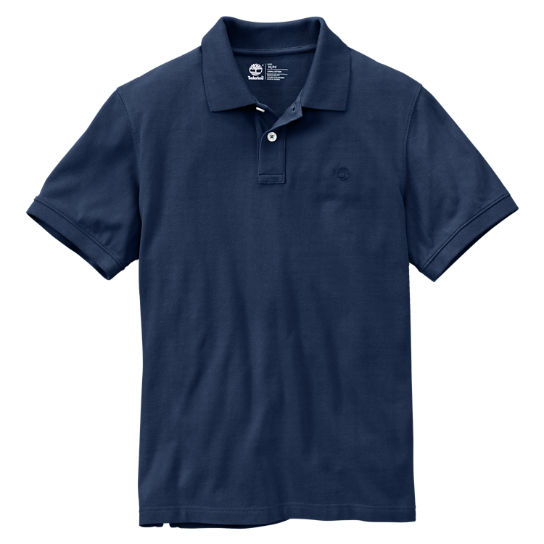 Men's Millers River Slim Fit Pique Polo Shirt
