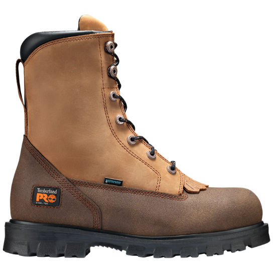 "Men's Timberland PRO® 8"" Rigmaster Lace Rigger Steel Toe Work Boots"