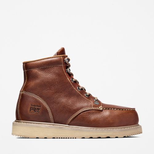 Men's Timberland PRO® Barstow Wedge Alloy Toe Work Boots-