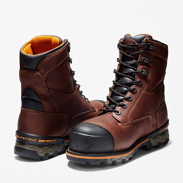 "Men's Timberland PRO® Boondock 8"" Comp Toe Work Boots-"