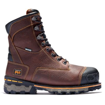 "Men's Timberland PRO® Boondock 8"" Soft Toe Work Boots"
