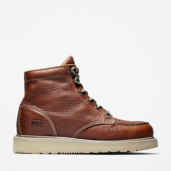 Men's Timberland PRO® Barstow Wedge Moc Soft Toe Work Boots-