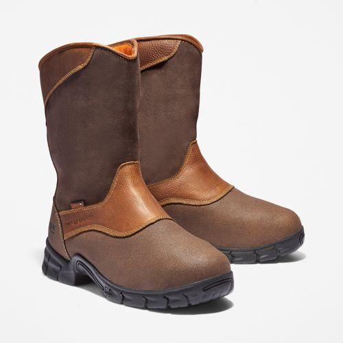 Men's Excave Met Guard Steel Toe Waterproof Work Boot-