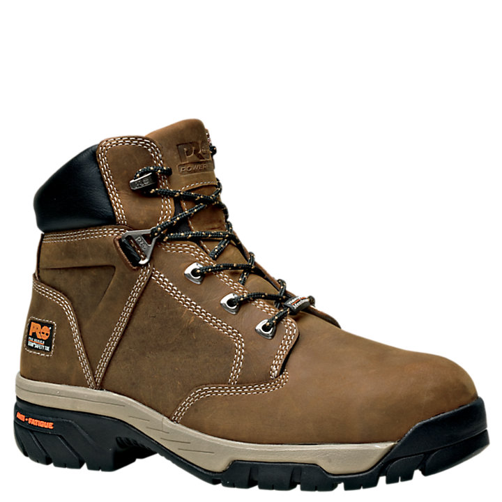 "Men's Timberland PRO® Helix 6"" Alloy Toe Work Boots-"