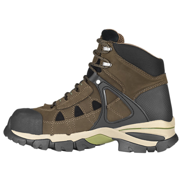 "Men's Timberland PRO® Hyperion 6"" Alloy Toe Work Boots-"