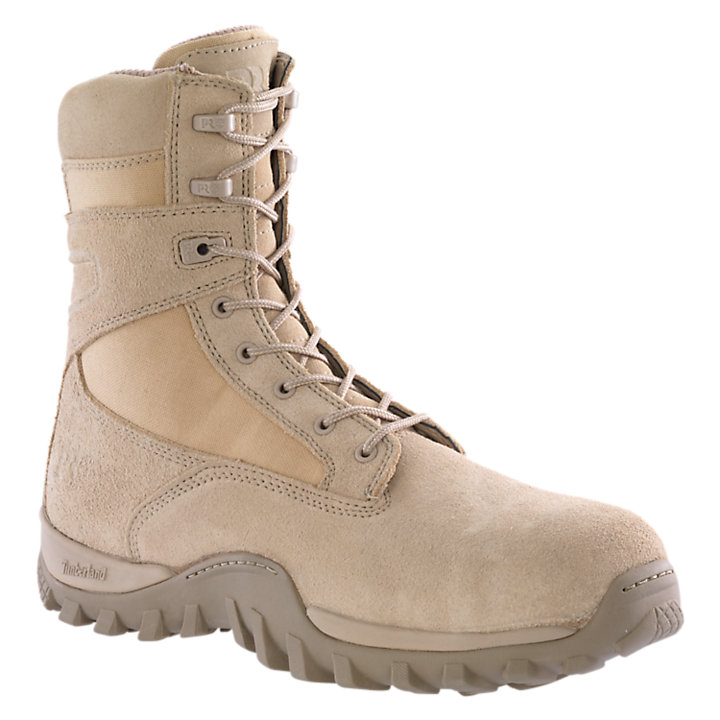"Men's Timberland PRO® McClellan 8"" Comp Toe Work Boots-"