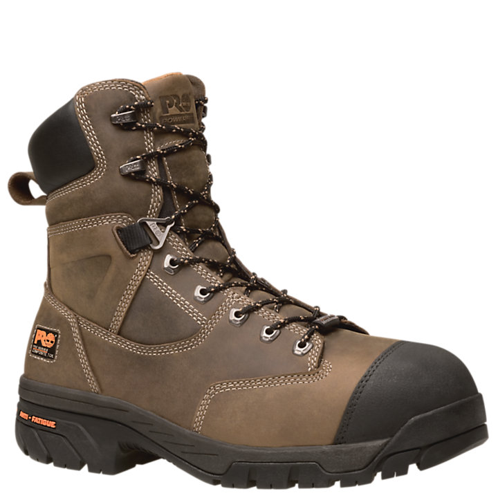 "Men's Timberland PRO® Helix Comp Toe 8"" Work Boots-"