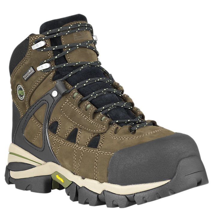 "Men's Timberland PRO® Hyperion 6"" Comp Toe Work Boots-"