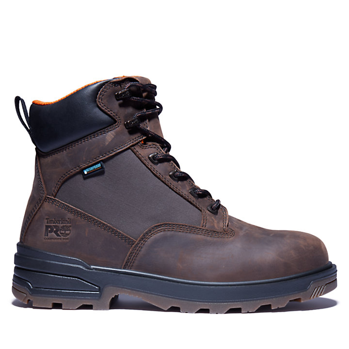 "Men's Timberland PRO® Resistor 6"" Comp Toe Boots-"