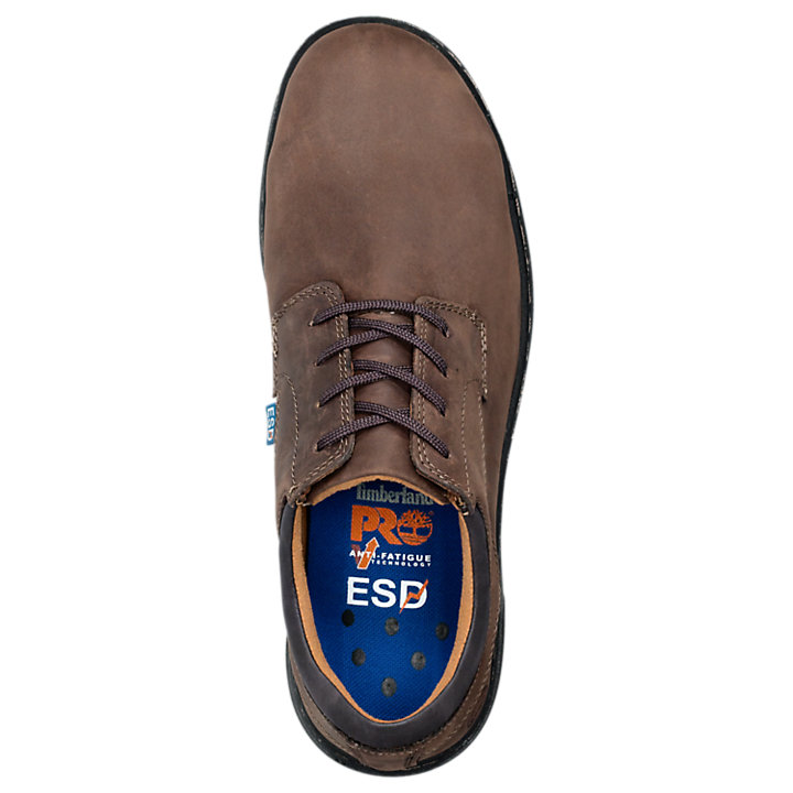 Men's Timberland PRO® Branston ESD Oxford Alloy Toe Work Shoes-