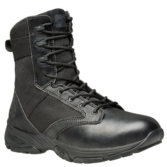"Men's Timberland PRO® Valor™ Tactical 8"" Side-Zip Soft Toe Work Boots"