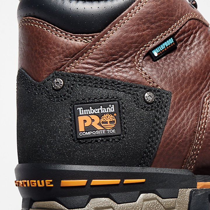 "Men's Timberland PRO® Boondock 6"" Comp Toe Work Boots-"