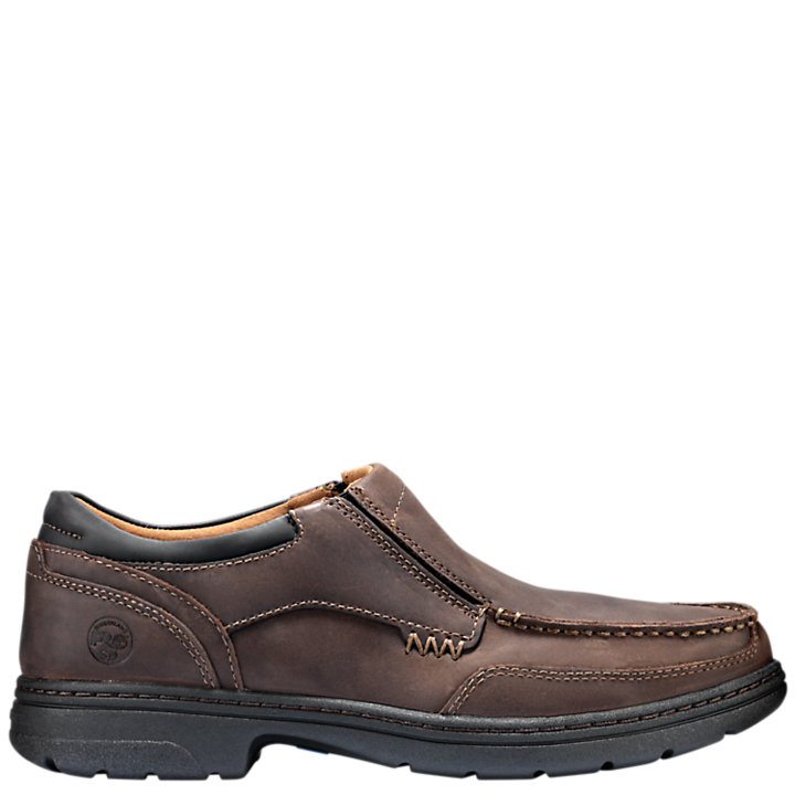 Men's Timberland PRO® Branston ESD Slip-On Soft Toe Work Shoes-