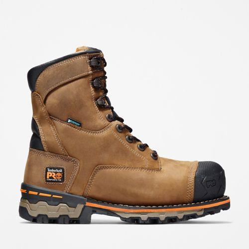 "Men's Timberland PRO® Boondock 8"""" Comp Toe Work Boots-"