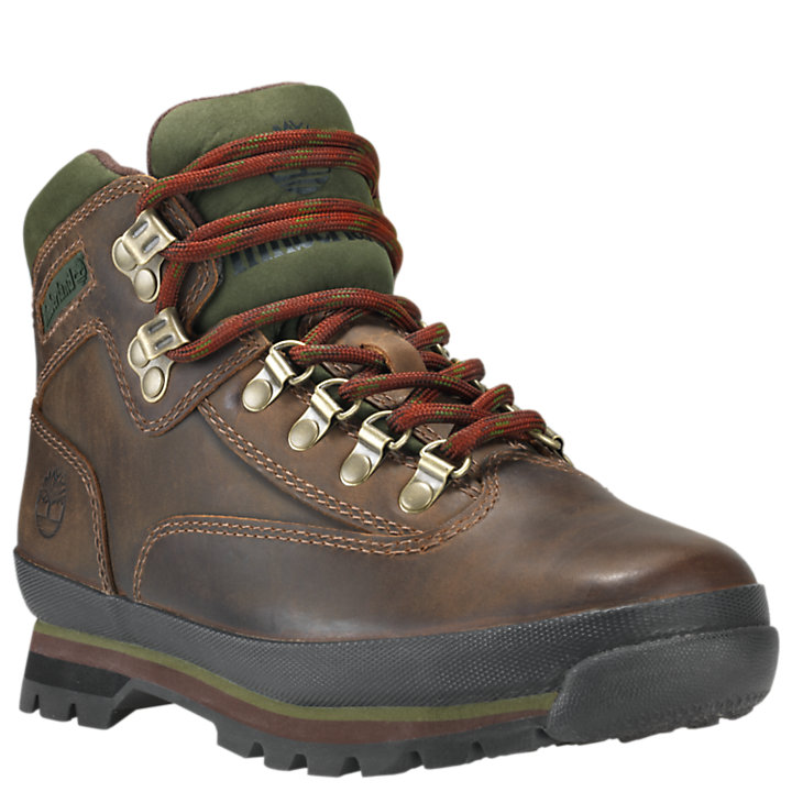 Women's Leather Euro Hiker Boots