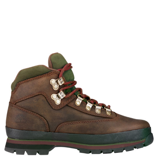 timberland euro hiker boots brown