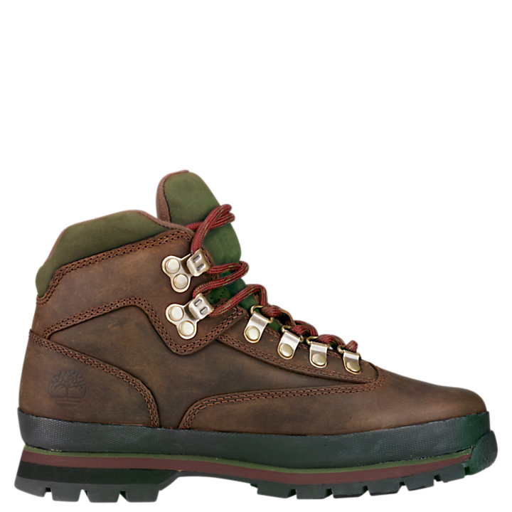Women's Leather Euro Hiker Boots-