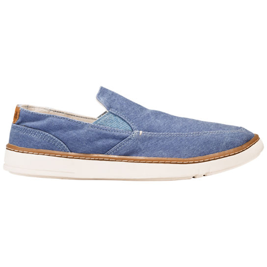 timberland s sandbridge canvas slip on shoes