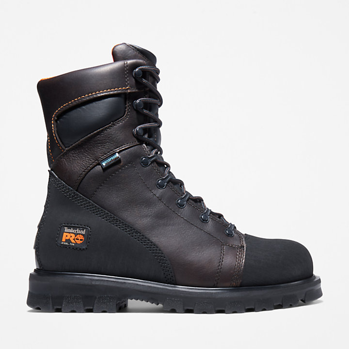 "Men's Timberland PRO® Rigmaster 8"" Steel Toe Work Boots-"