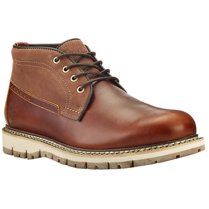 Men's Britton Hill Waterproof Chukka Boots-