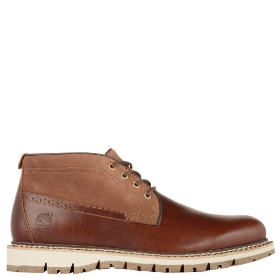 Men's Britton Hill Waterproof Chukka Boots
