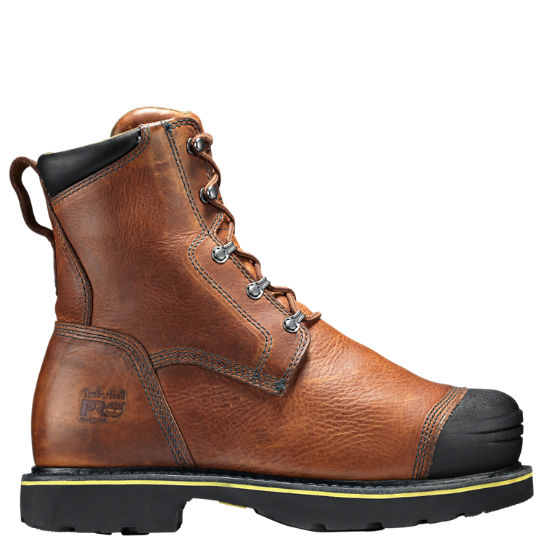 "Timberland PRO® Warrick Smelter 10"" Met Guard Alloy Toe Work Boots"