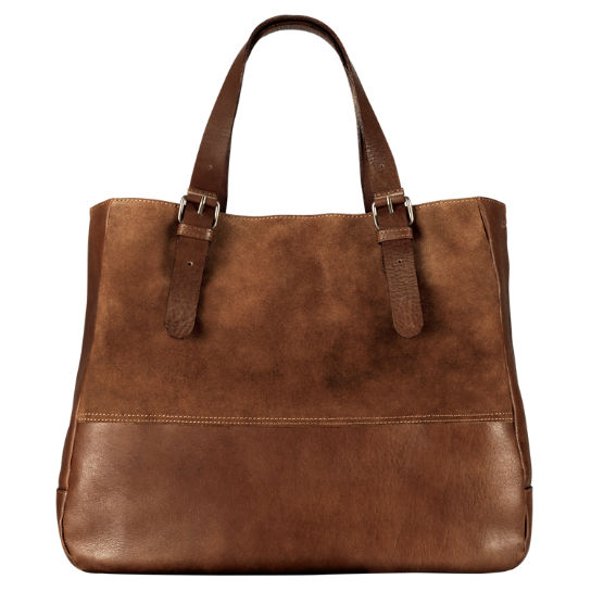 Chestnut Hill Leather Tote Bag