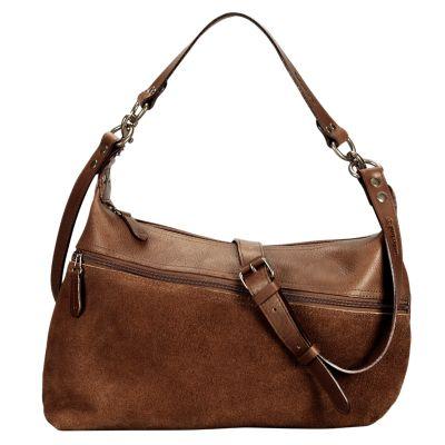 Chestnut Hill Asymmetrical Leather Handbag