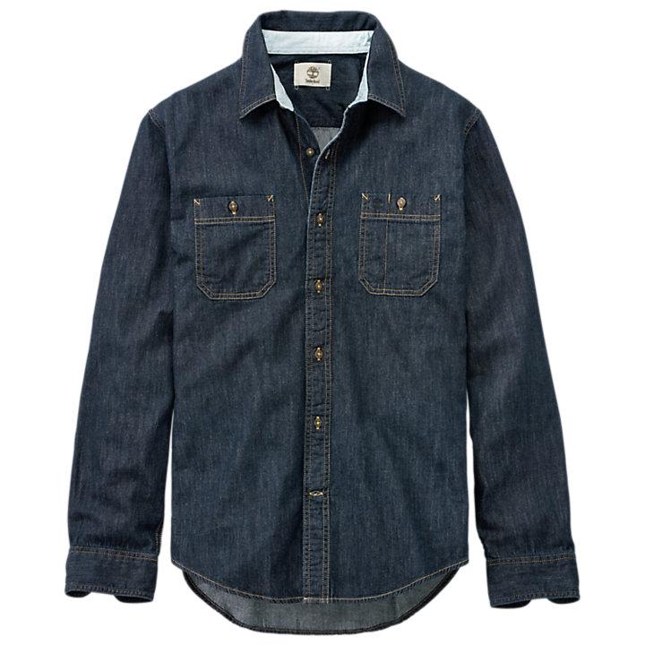 Men's Peabody River Slim Fit Denim Shirt-