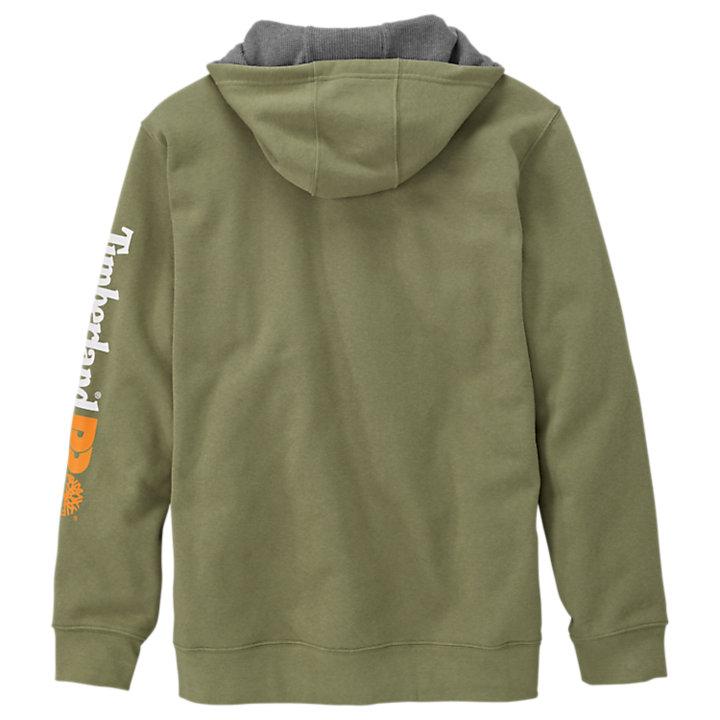 Men's Timberland PRO® Hood Honcho Water-Repellent Full-Zip Hoodie-