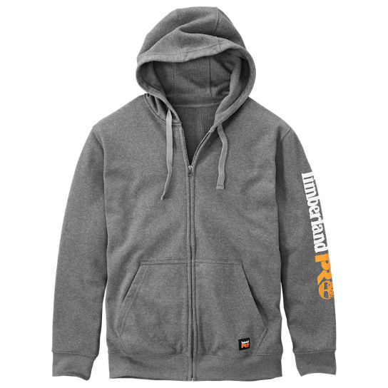 Men's Timberland PRO® Hood Honcho Water-Repellent Full-Zip Hoodie