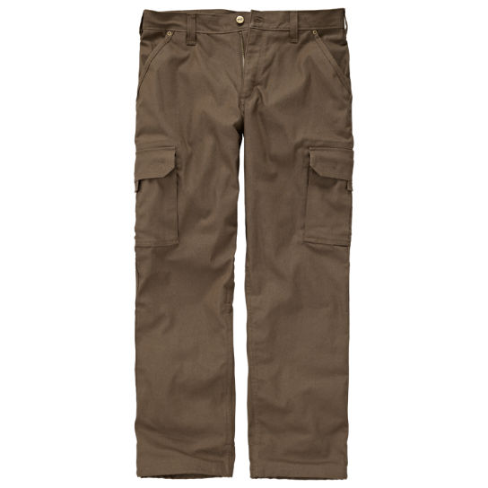 Men's Timberland PRO® Gridflex Flannel-Lined Canvas Work Pant
