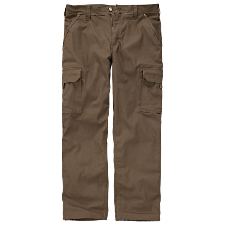 Men's Timberland PRO® Gridflex Flannel-Lined Canvas Work Pant-