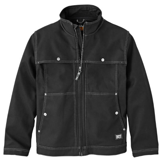 Men's Timberland PRO® Stud-Lee Canvas Windproof Jacket