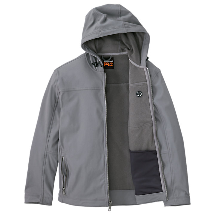 Men's Timberland PRO® Power Zip Hooded Softshell Jacket-