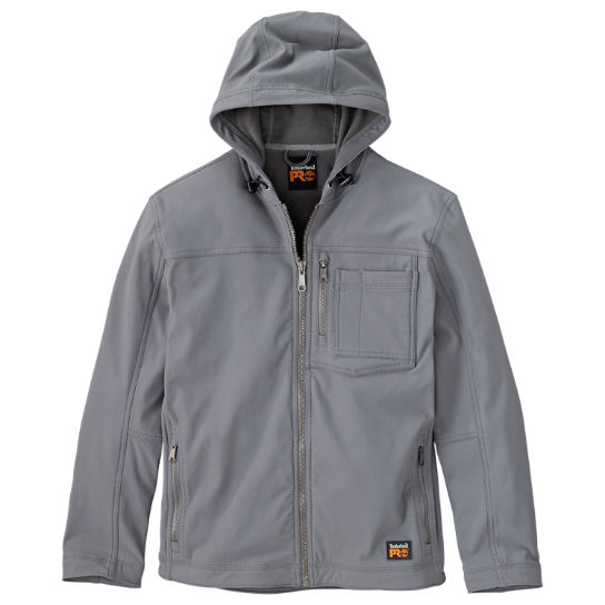 Men's Timberland PRO® Power Zip Hooded Softshell Jacket