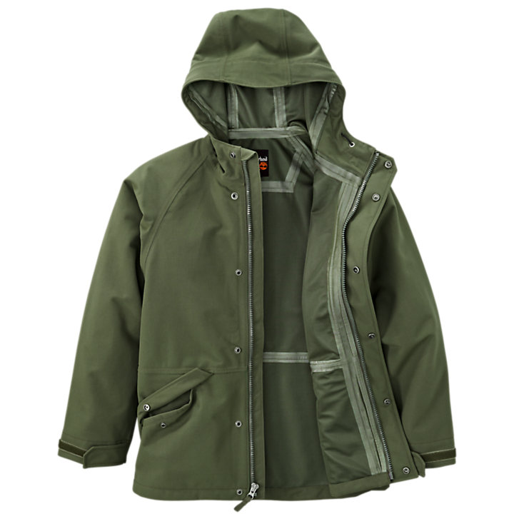 Men's Timberland PRO® Dry Squall Hooded Waterproof Jacket-