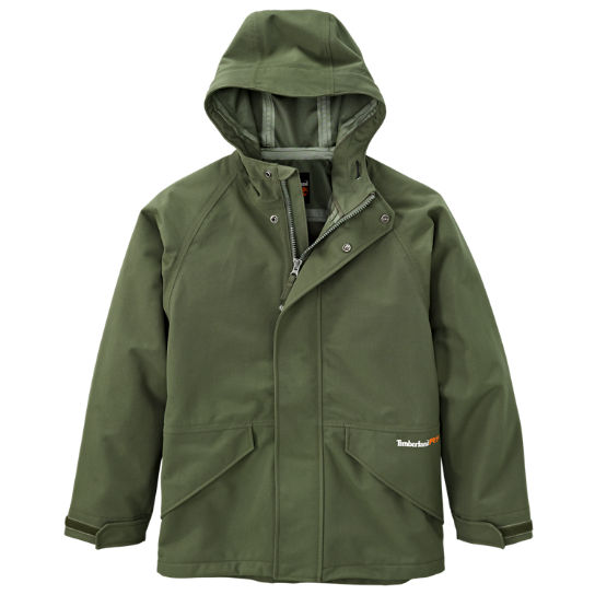 Timberland | Men's Timberland PRO® Dry Squall Hooded Waterproof Jacket