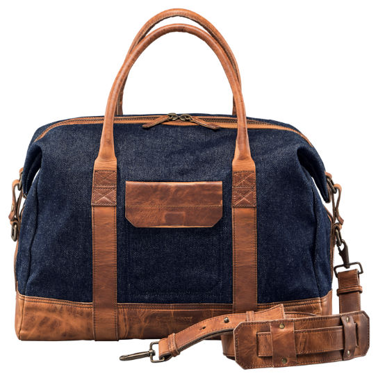 Coulter Denim Duffle Bag
