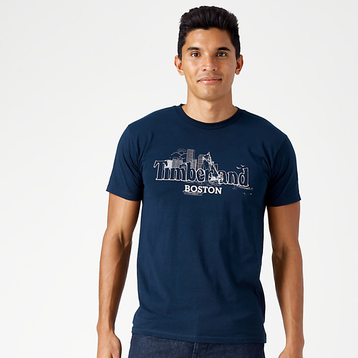 Men's Destination Boston Jersey T-Shirt-