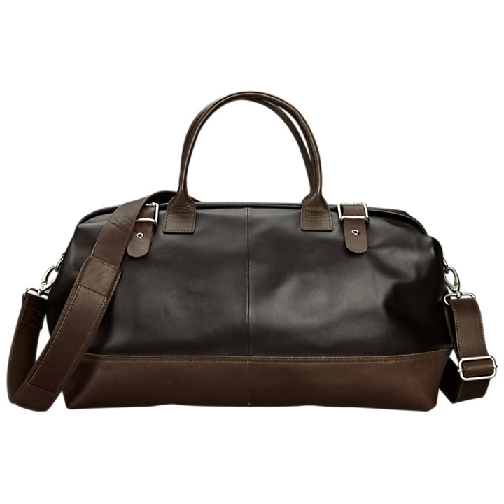Wodehouse Leather Duffle Bag-