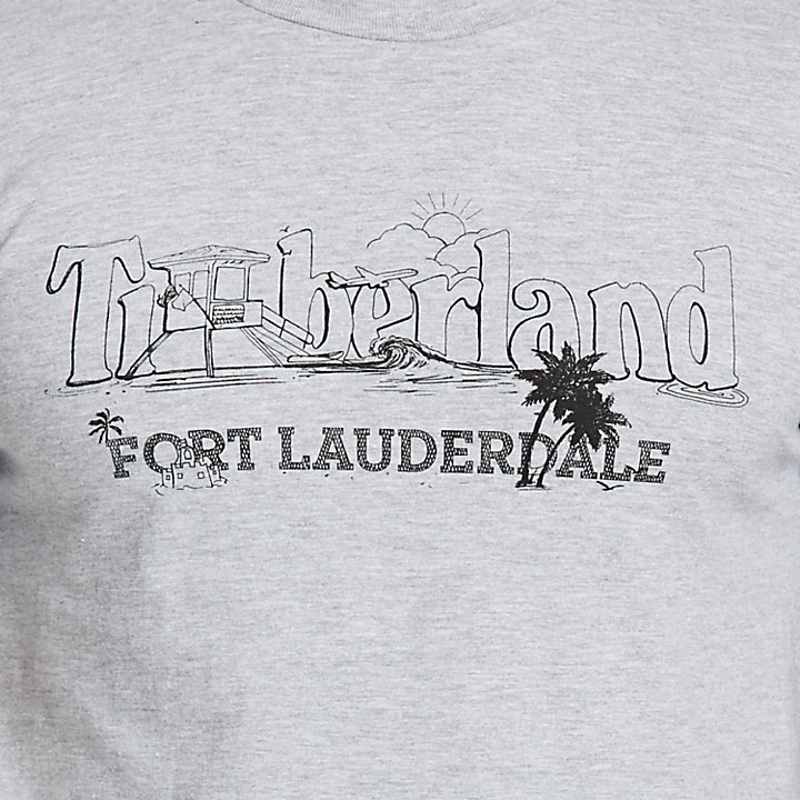 Men's Destination Fort Lauderdale Jersey T-Shirt-