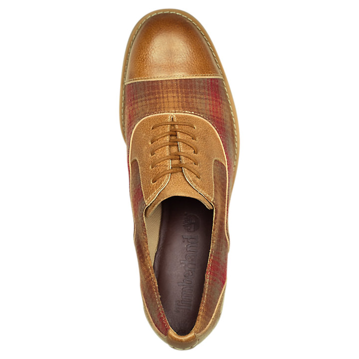 0d3eedbebc4 Women's Beckwith Leather/Plaid Oxford Shoes | Timberland US Store