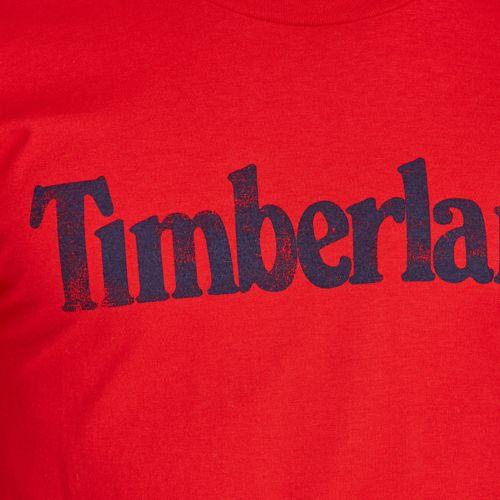 Men's Faded Linear Logo T-Shirt-