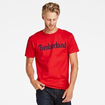 Men's Faded Linear Logo T-Shirt