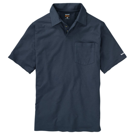 Men's Timberland PRO® Base Plate Wicking Polo Shirt