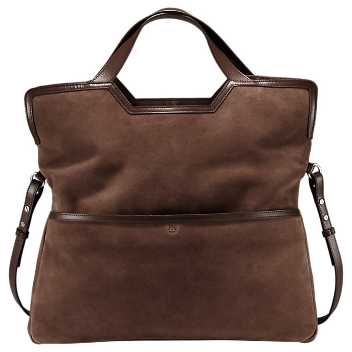 Avery Peak Suede Tote Bag-