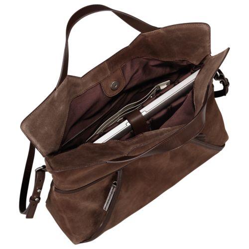 Avery Peak Suede Tote Bag-